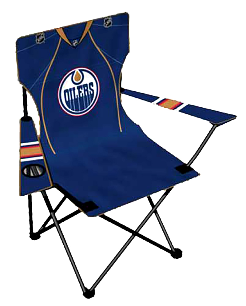 EDMONTON OILERS -  JUNIOR FOLDING CHAIR