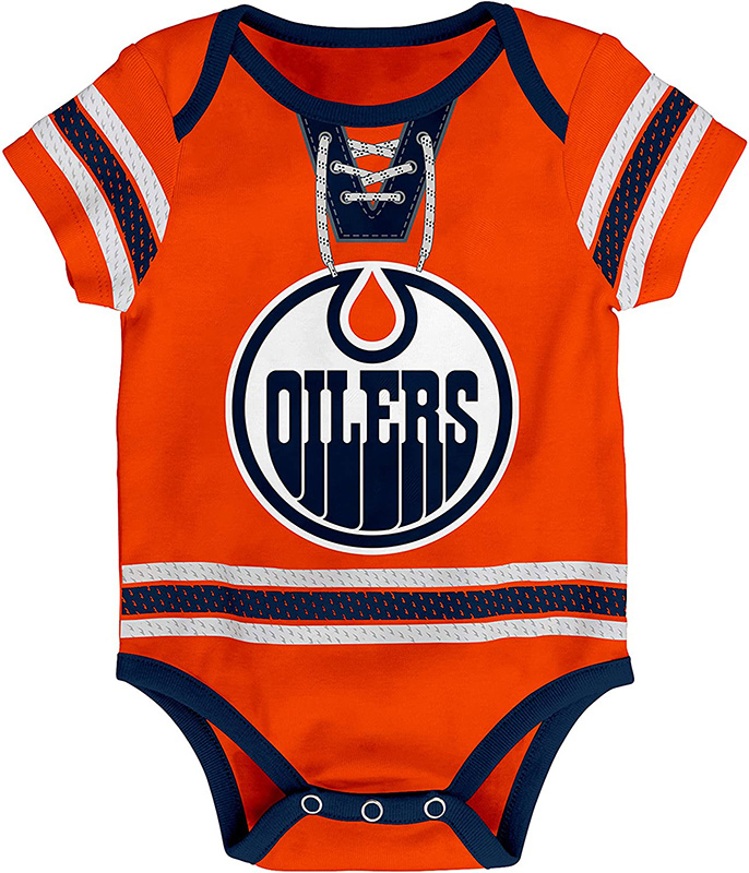 EDMONTON OILERS -  NAPPY COVER - MCDAVID CONNOR 97 -  CHILDREN'S CLOTHING HOCKEY