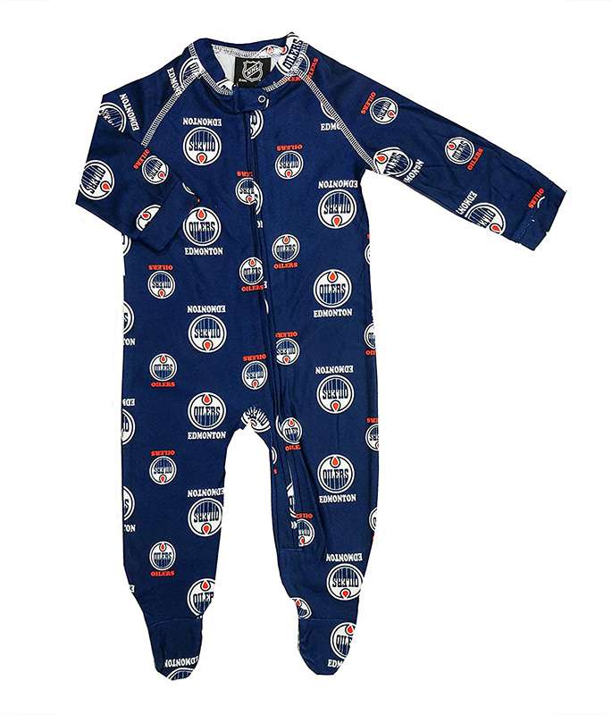 EDMONTON OILERS -  PYJAMA FOR KID -  CHILDREN'S CLOTHING HOCKEY