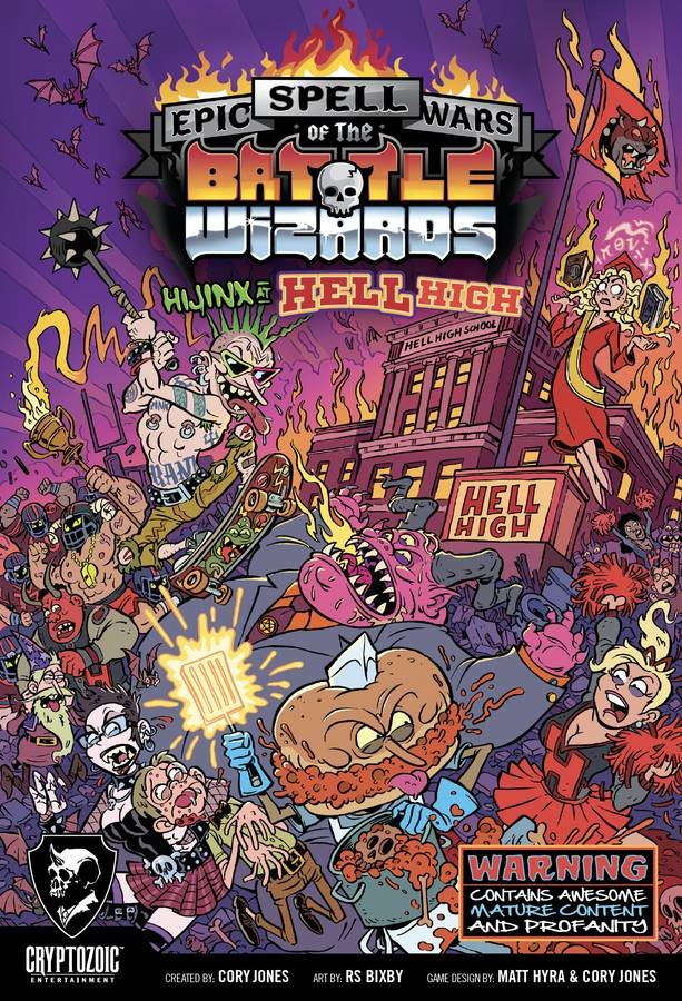 EPIC SPELL WARS OF THE BATTLE WIZARDS - HIJINX AT HELL ...