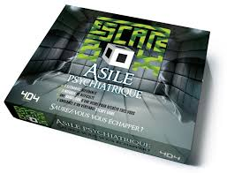 ESCAPE GAME -  ASILE PSYCHIATRIQUE (FRENCH) -  ESCAPE BOX