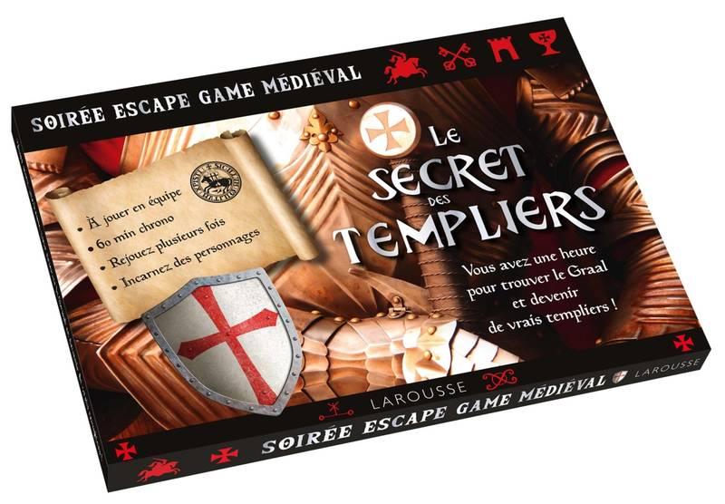 ESCAPE GAME -  LE SECRETS DES TEMPLIERS -  SOIRÉE ESCAPE GAME MÉDIÉVAL