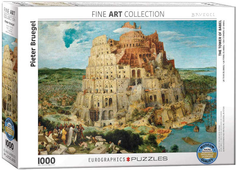 EUROGRAPHICS -  THE TOWER OF BABEL (1000 PIECES)