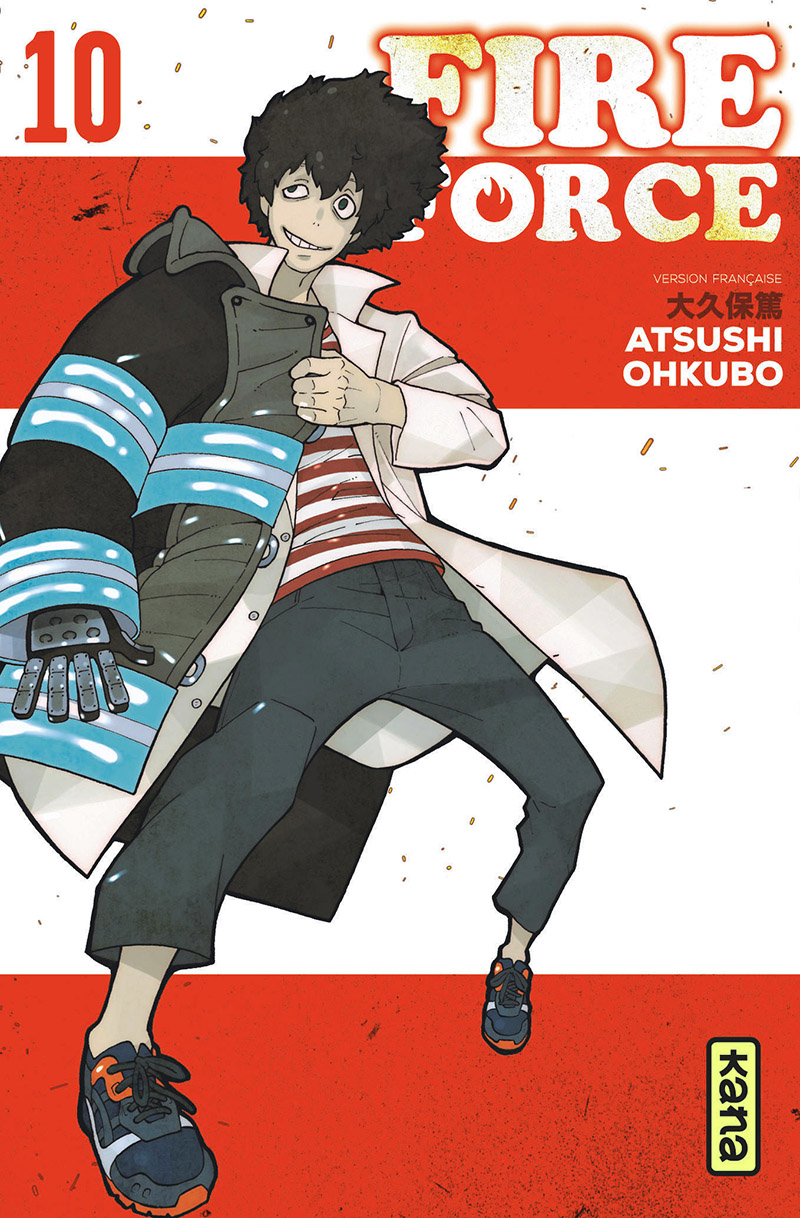 FIRE FORCE -  (FRENCH V.) 10