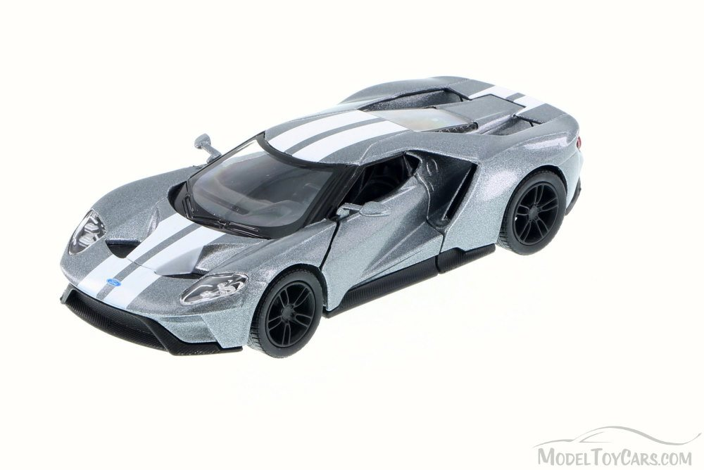 FORD -  2017 GT 1/38 - SILVER/STRIPES