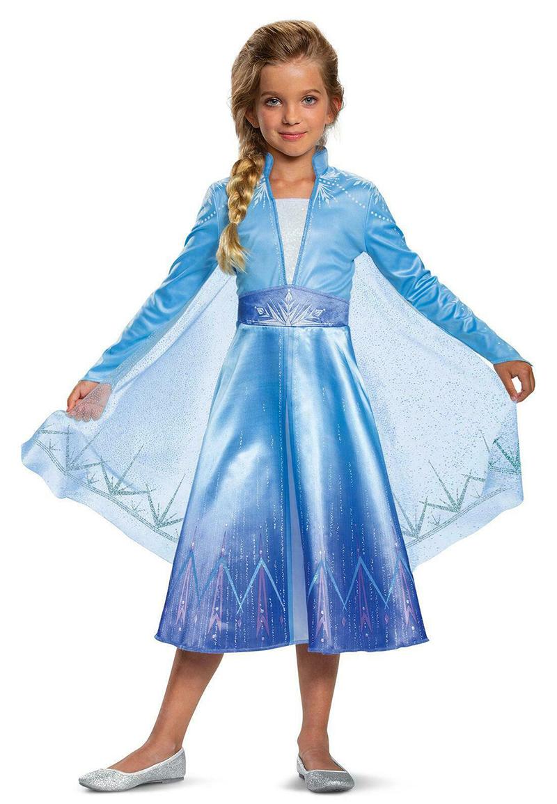 FROZEN 2 -  ELSA DELUXE COSTUME (CHILD) -  DISNEY'S PRINCESSES