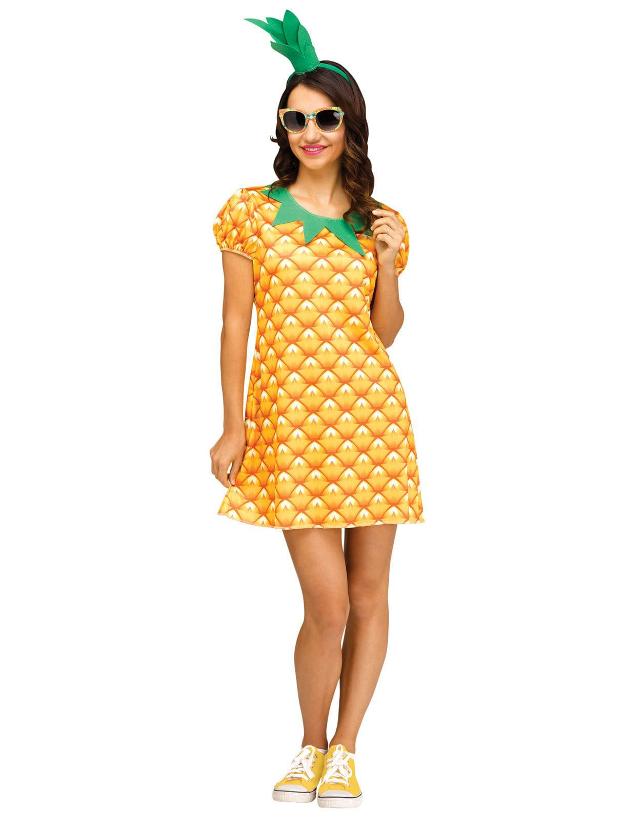 FRUITS AND FLOWERS -  PINEAPPLE COSTUME (ADULT)