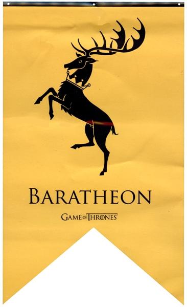 GAME OF THRONES, A -  BARATHEON BANNER