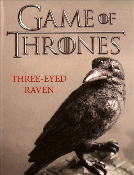 GAME OF THRONES, A -  THREE EYED RAVEN FIGURE WITH BOOKLET -  MINI KIT