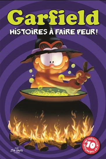 GARFIELD -  HISTOIRES À FAIRE PEUR !