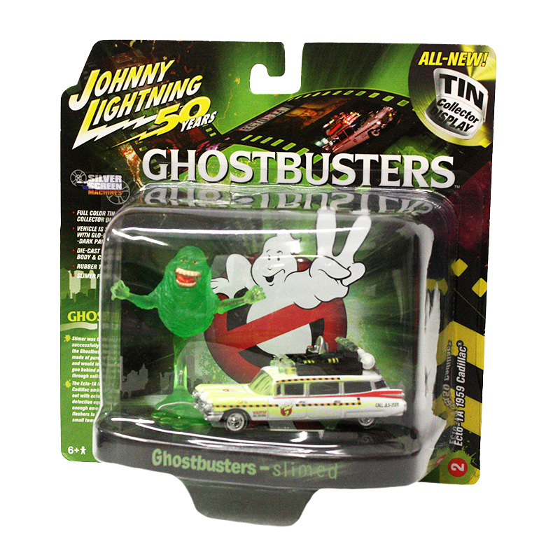 GHOSTBUSTERS -  GHOSTBUSTERS ECTO 1A 1959 CADILLAC DIORAMA -  THE GHOSTBUSTERS
