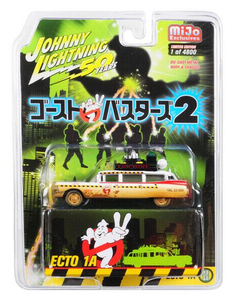 GHOSTBUSTERS II -  ECTO 1A 1/64 LIMITED EDITION (1/4800)