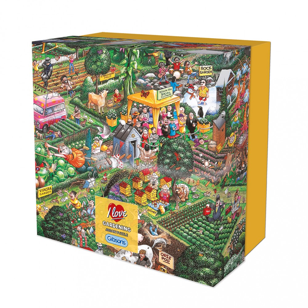 GIBSONS -  I LOVE GARDENING (500 PIECES)
