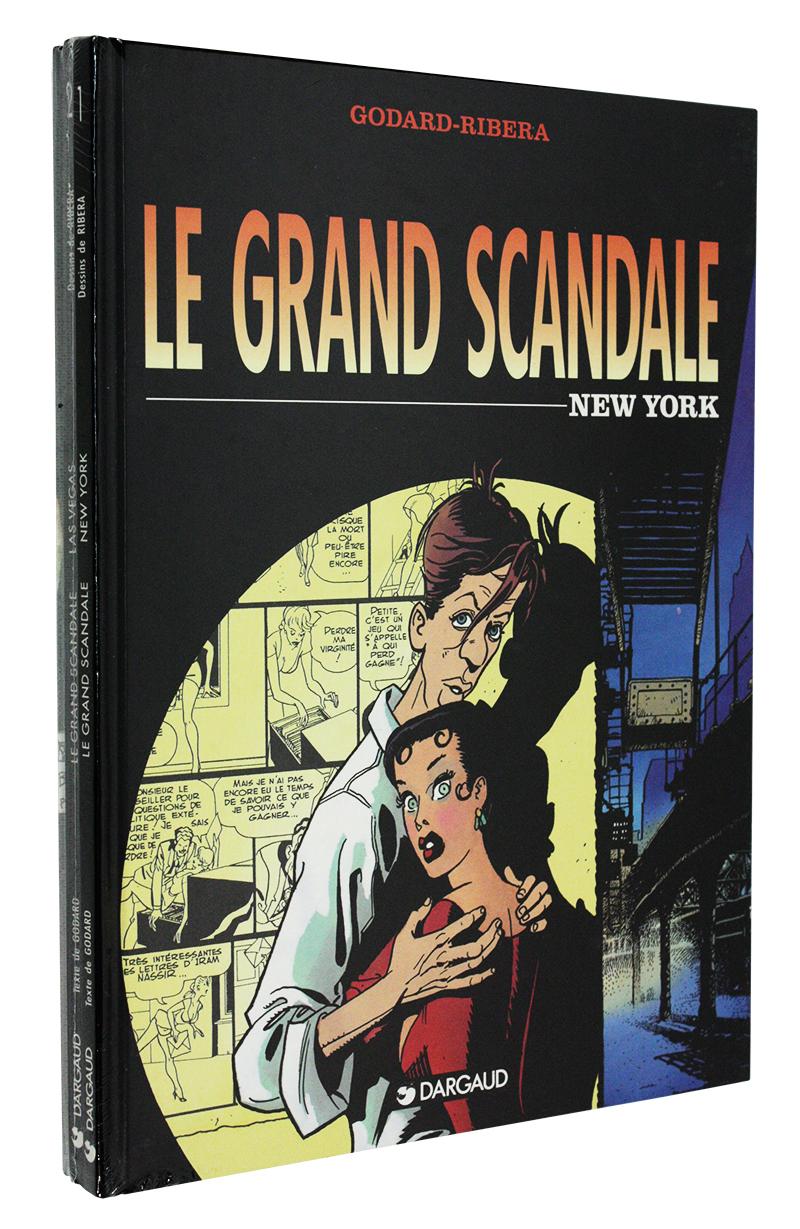 GRAND SCANDALE, LE -  BD USAGÉS TOME 01 À 03