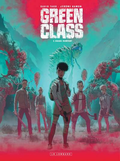 GREEN CLASS -  CHAOS RAMPANT 03