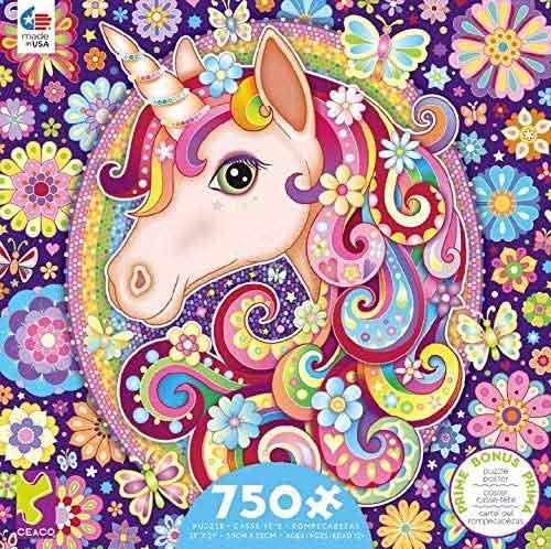 GROOVY ANIMALS -  UNICORN (750 PIECES)
