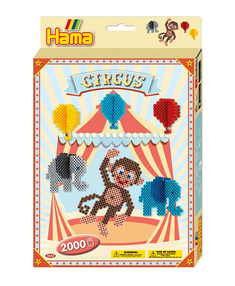 HAMA BEADS -  CIRCUS (2000 PIECES)