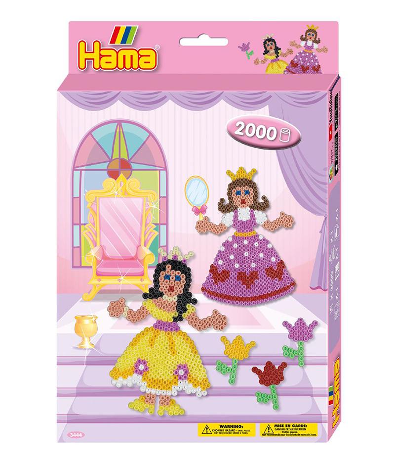 HAMA BEADS -  PRINCESS (2000 PIECES)