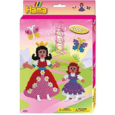 HAMA BEADS -  PRINCESSES (2000 PIECES)