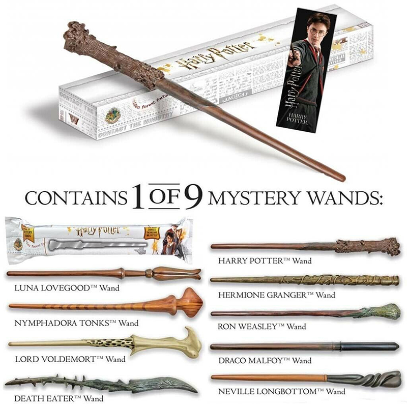 HARRY POTTER -  MYSTERY WAND (12 INCHES)