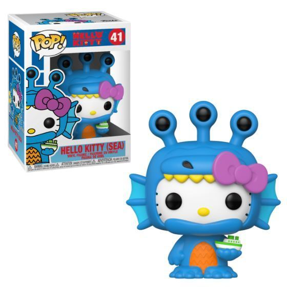 HELLO KITTY -  POP! VINYL FIGURE OF HELLO KITTY (SEA) (4 INCH) -  KAIJU 41