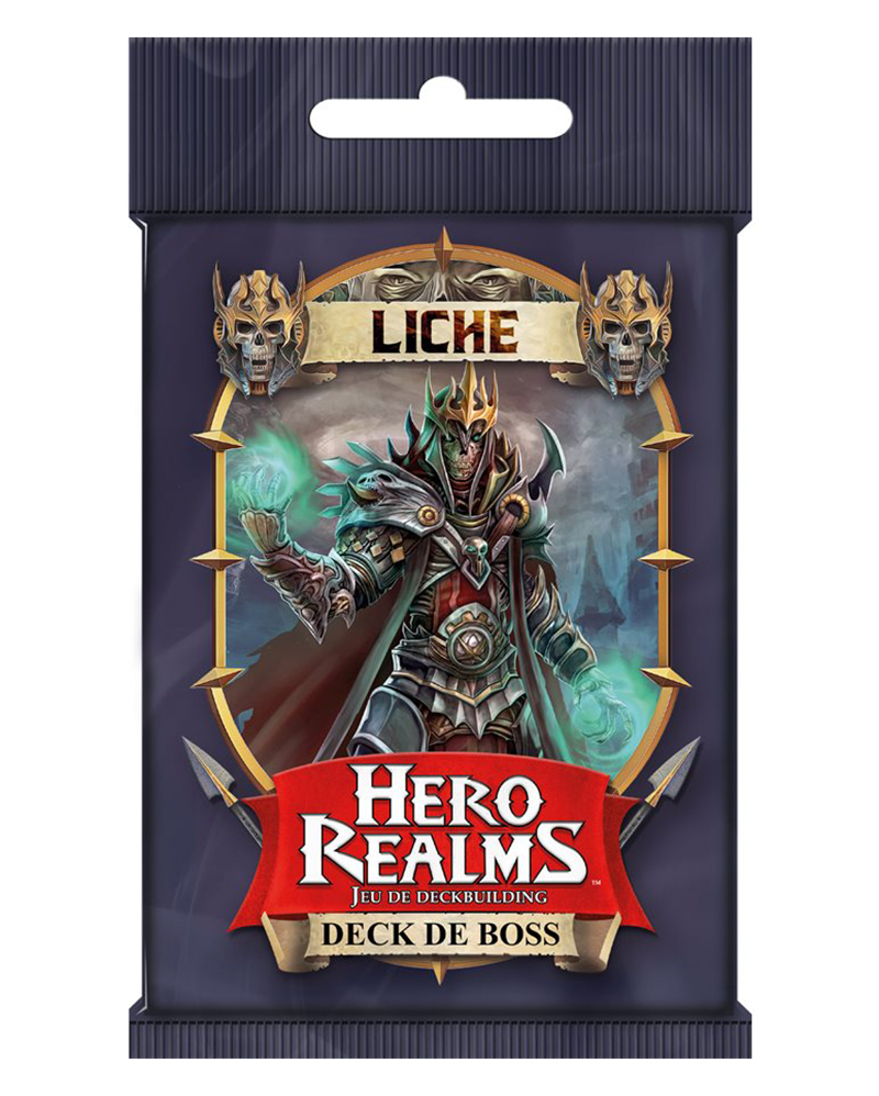 HERO REALMS -  LICHE - DECK DE BOSS (FRENCH)