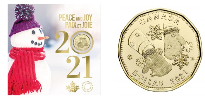 HOLIDAY GIFT SET -  HOLIDAY GIFT SET -  2021 CANADIAN COINS 18