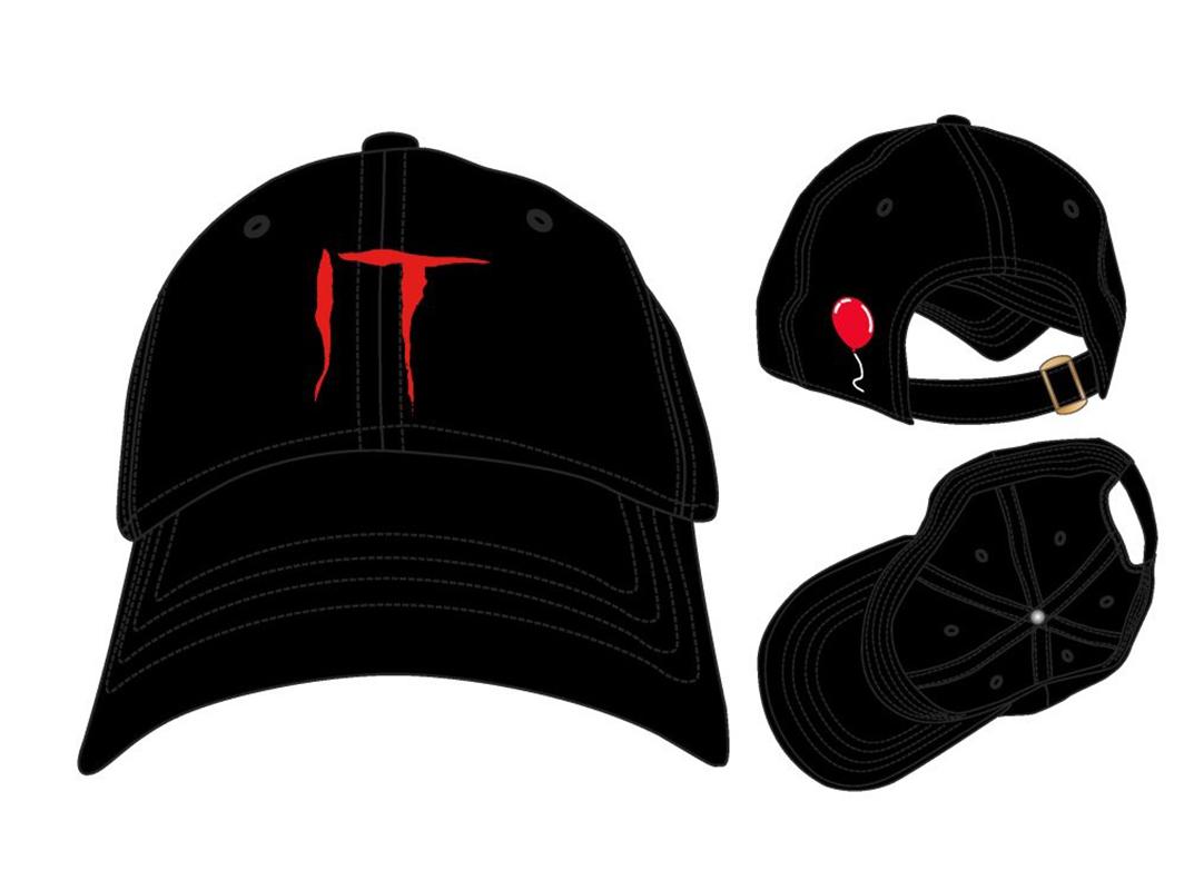 IT -  CAP SNAPBACK - BLACK