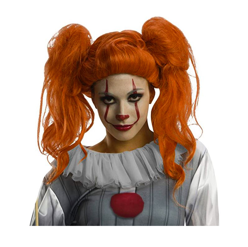 IT -  FEMALE PENNYWISE WIG (ADULTE)