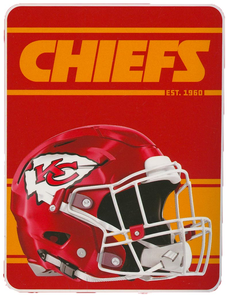 KANSAS CITY CHIEFS -  SUPER SOFT THROW (46
