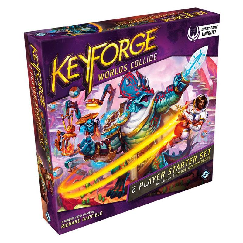 KEYFORGE -  BASE GAME (ENGLISH) -  WORLDS COLLIDE