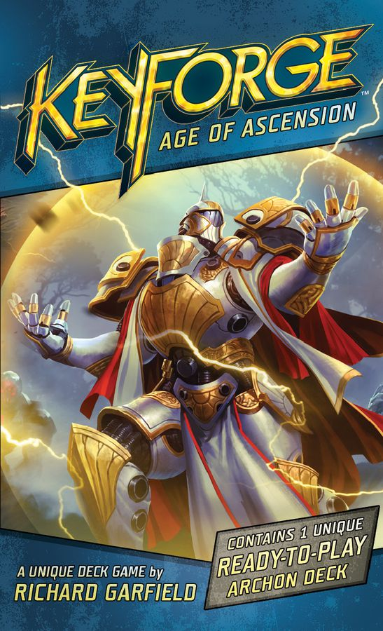KEYFORGE -  BOOSTER PACK (ENGLISH) -  AGE OF ASCENSION