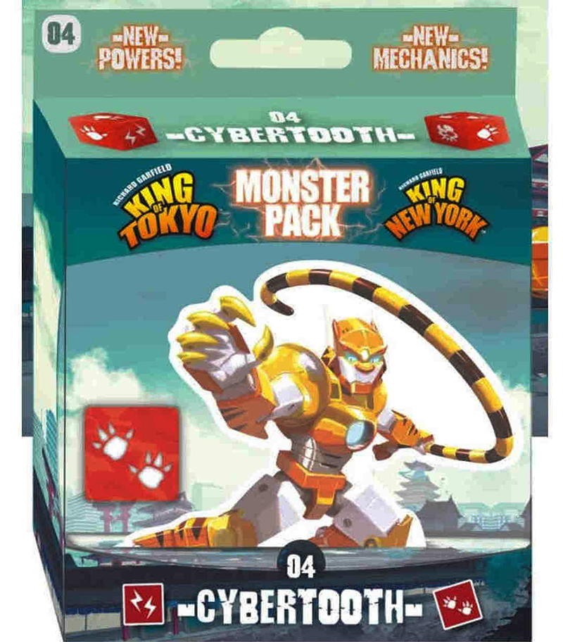 KING OF TOKYO -  CYBERTOOTH (ENGLISH) -  MONSTER PACK