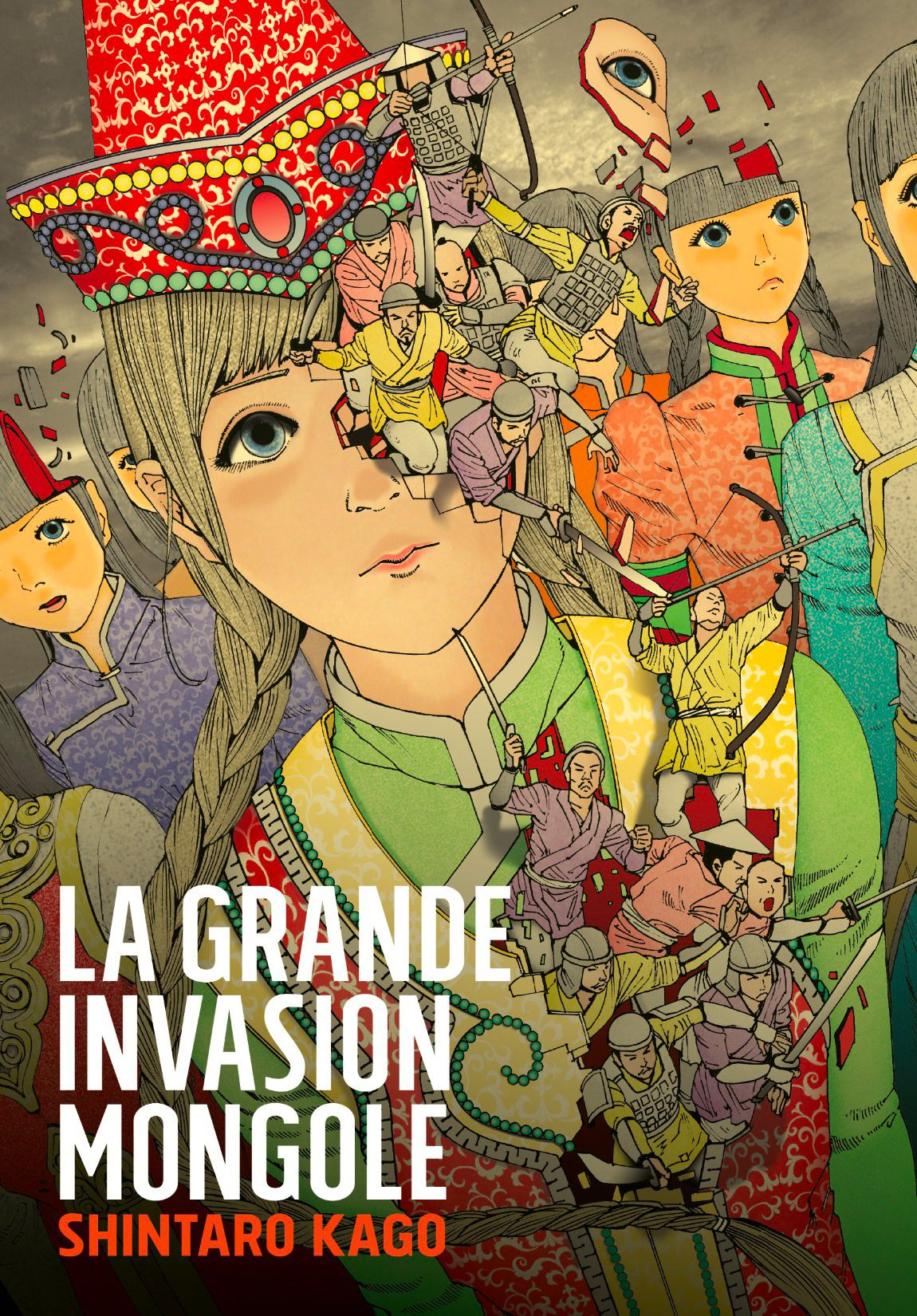 LA GRANDE INVASION MONGOLE -  (FRENCH V.)