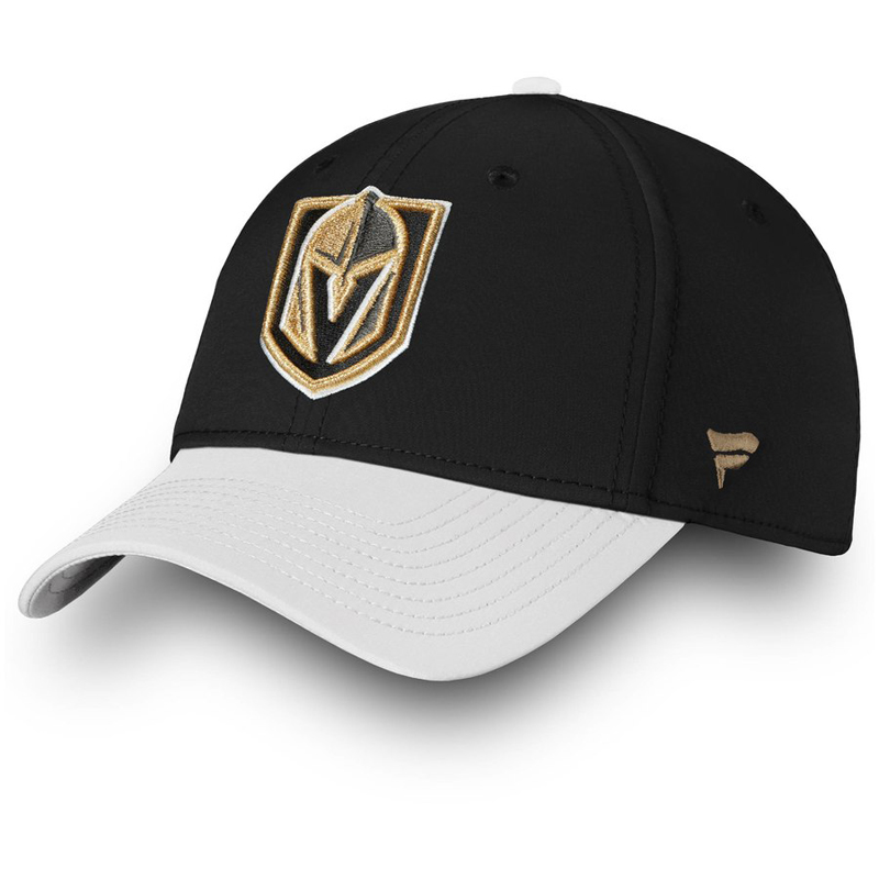 LAS VEGAS GOLDEN KNIGHTS -  ADJUSTABLE CAP - BLACK/WHITE