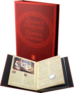 LEGENDS AND FOLKLORE -  COMPLETE COLECTION OF ALL 6 BOOKS AND COINS IN 2 ALBUMS -  2001-2002 CANADIAN COINS