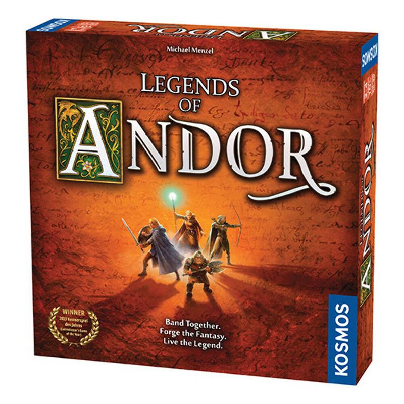 LEGENDS OF ANDOR -  BASE GAME (ENGLISH)