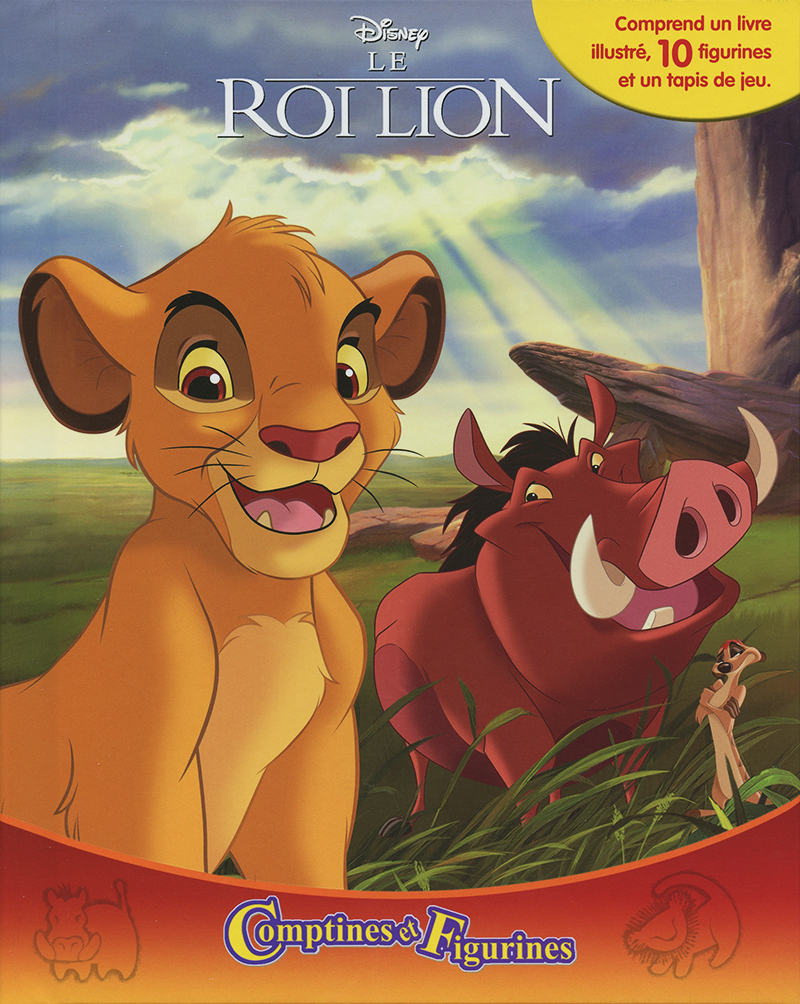 LION KING, THE -  COMPTINES ET FIGURINES