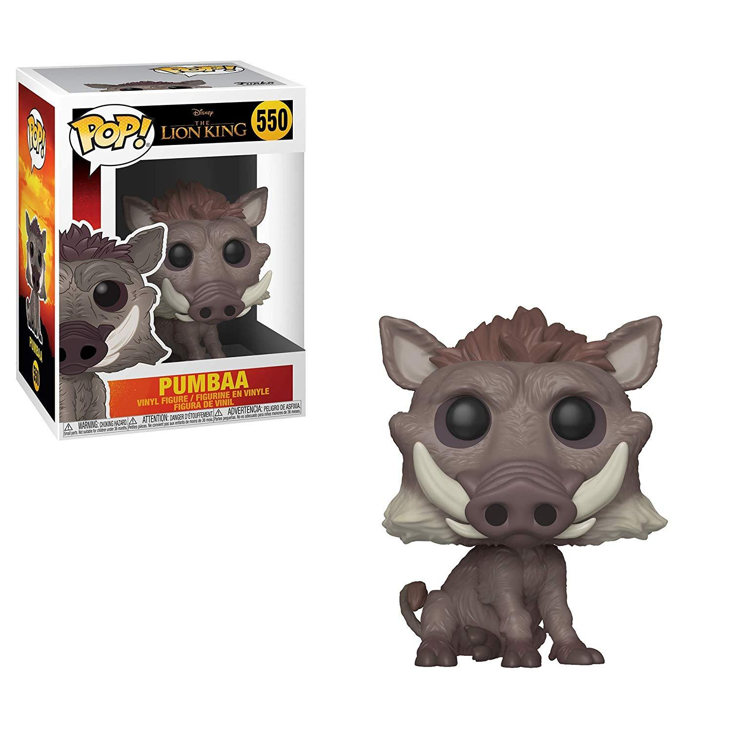 LION KING, THE -  POP! VINYL FIGURE OF PUMBAA (4 INCH) 550