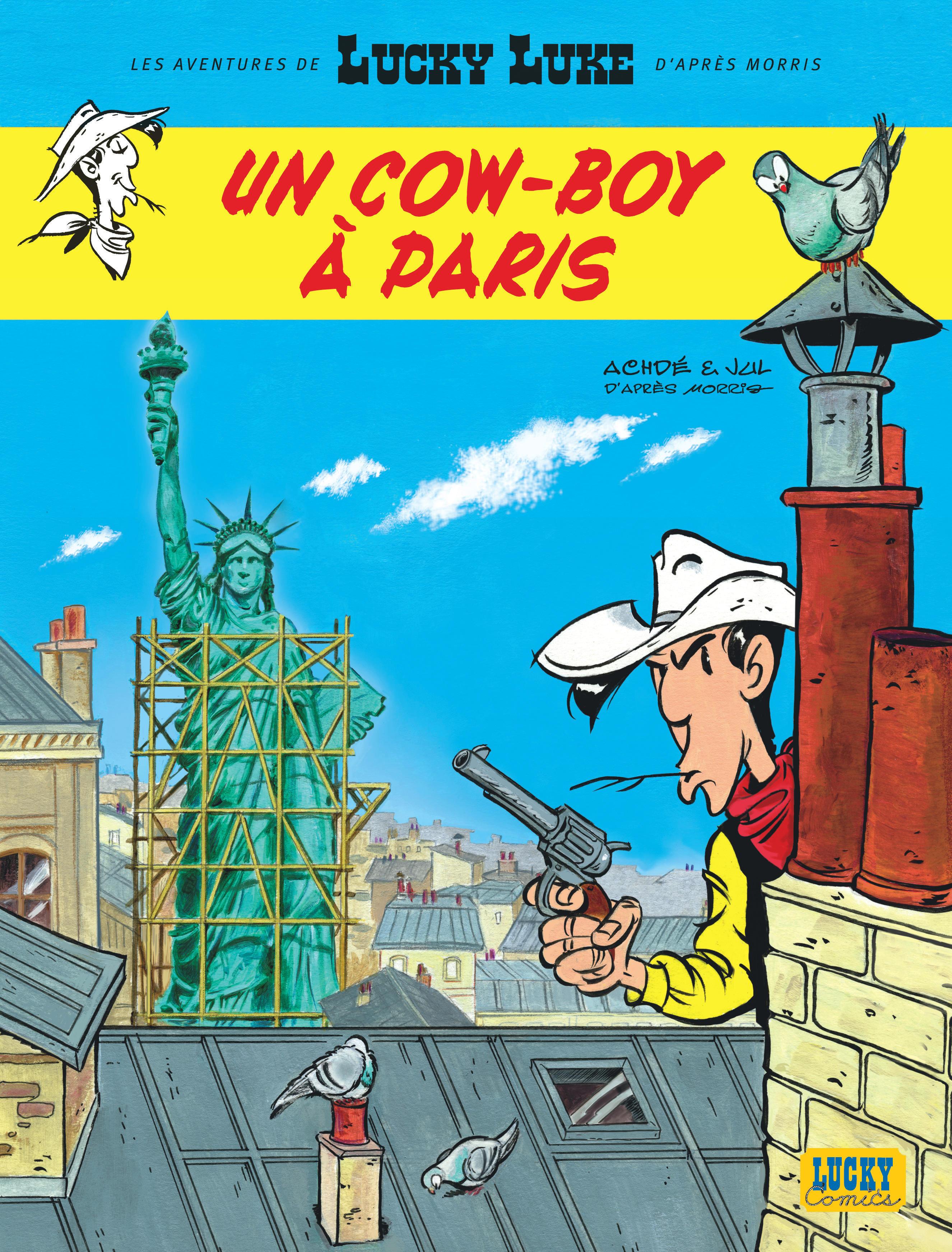 LUCKY LUKE -  UN COW-BOY À PARIS 08