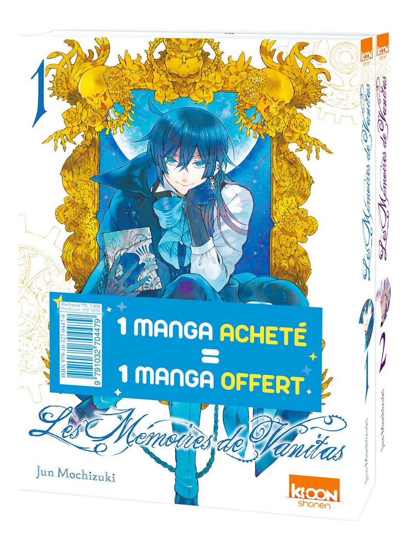 MÉMOIRES DE VANITAS, LES -  PACK DÉCOUVERTE TOMES 01 ET 02 (FRENCH V.)