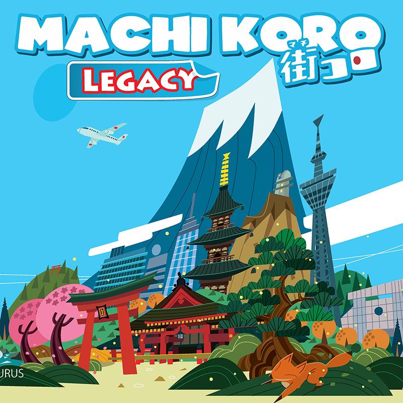 MACHI KORO : LEGACY -  BASE GAME (ENGLISH)