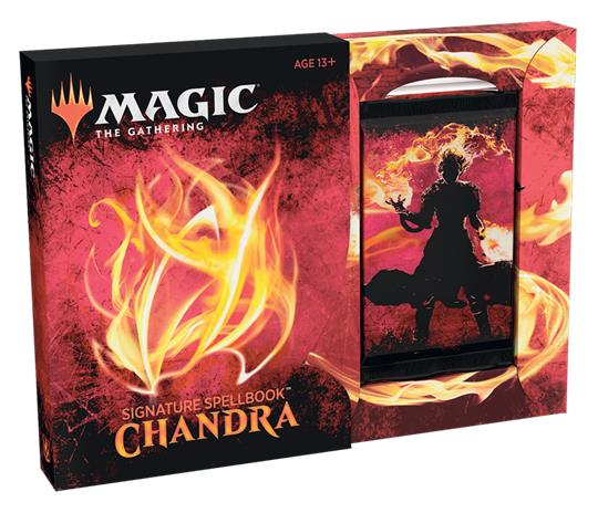MAGIC THE GATHERING -  CHANDRA - SIGNATURE SPELLBOOK (8 + 1 CARDS)
