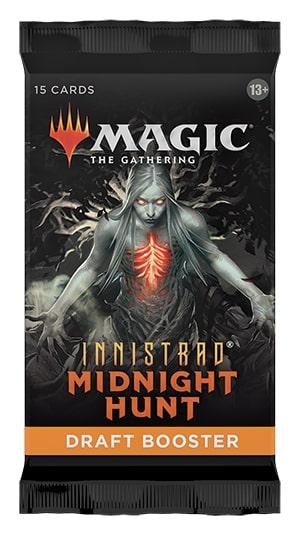 MAGIC THE GATHERING -  DRAFT BOOSTER PACK (P15/B36/C6) (ENGLISH) -  INNISTRAD MIDNIGHT HUNT