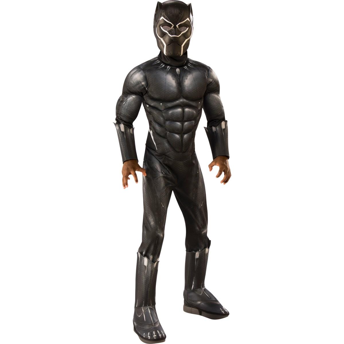 MARVEL -  BLACK PANTHER COSTUME (CHILD) -  BLACK PANTHER