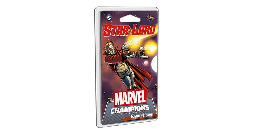 MARVEL CHAMPIONS : LE JEU DE CARTES -  STAR LORD (FRENCH)