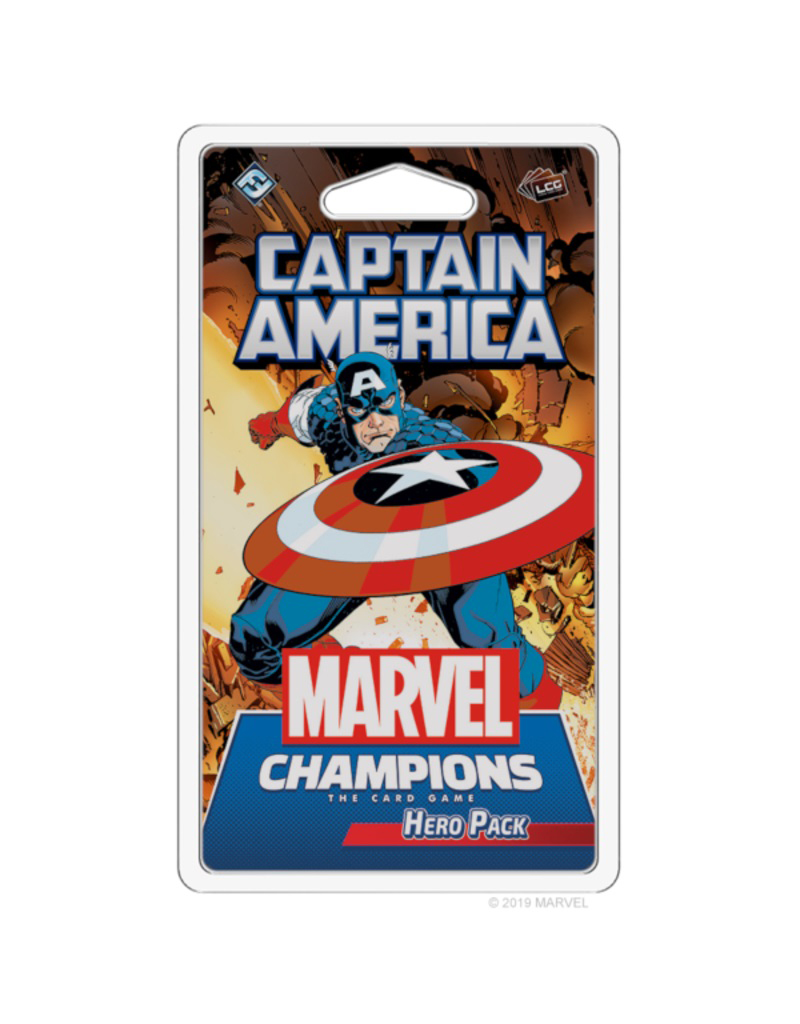 MARVEL CHAMPIONS : THE CARD GAME -  CAPTAIN AMERICA (ENGLISH)