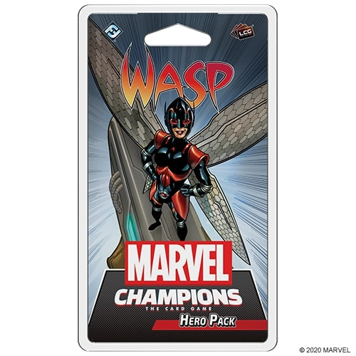 MARVEL CHAMPIONS : THE CARD GAME -  WASP (ENGLISH)