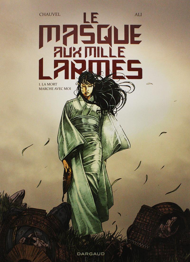 MASQUE AUX MILLE LARMES, LE -  LA MORT MARCHE AVEC MOI 01