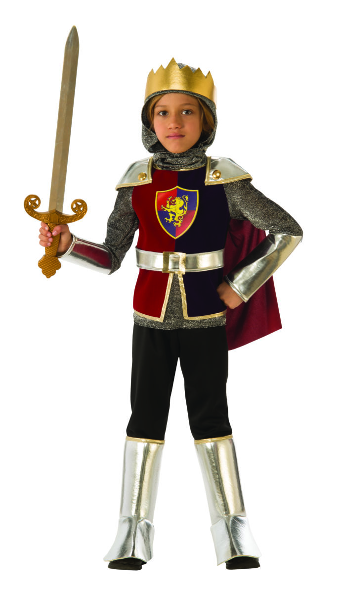 MEDIEVAL -  KNIGHT COSTUME (CHILD) -  KNIGHTS